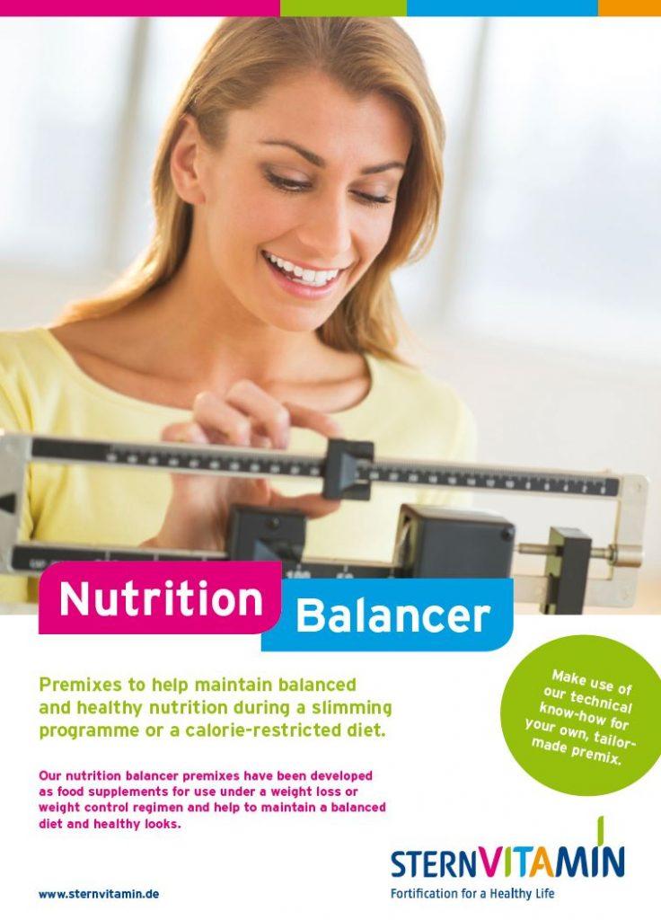 Der Premix Nutrition Balancer unterstützt eine ausgewogene Ernährung bei Gewichtsabnahme oder kalorienreduzierter Ernährung.