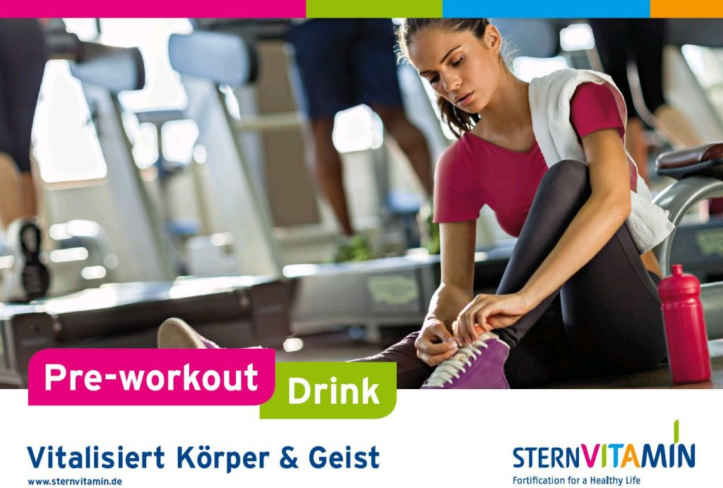 Coverbild Flyer zu Premix Konzept Pre-workout