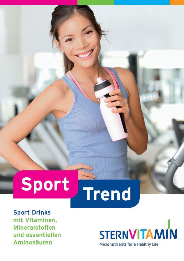 Coverbild Flyer zu Premix Konzept Sport Trend