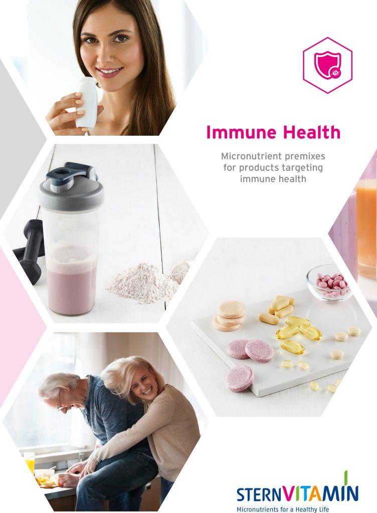 Cover Flyer Immune Health SternVitamin